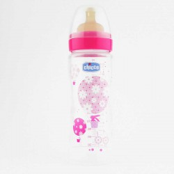 BIBERON 330ML CAUCH ROSA RAP