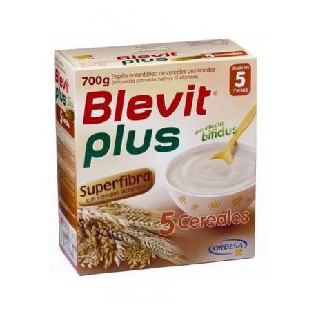 BLEVIT PLUS SUPFIBRA 5 cereales 600g
